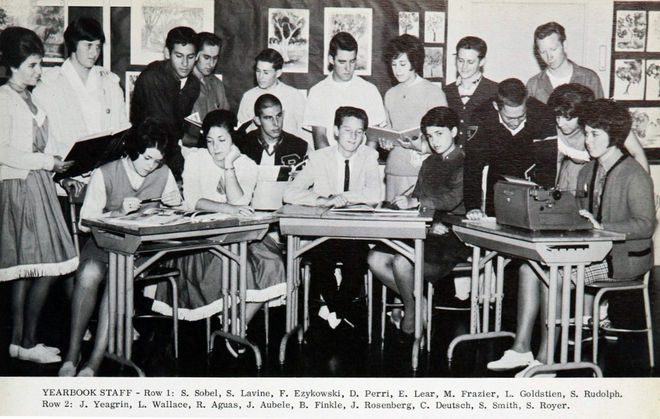 IMAGE: Dan Perri 1963 Yearbook Committee