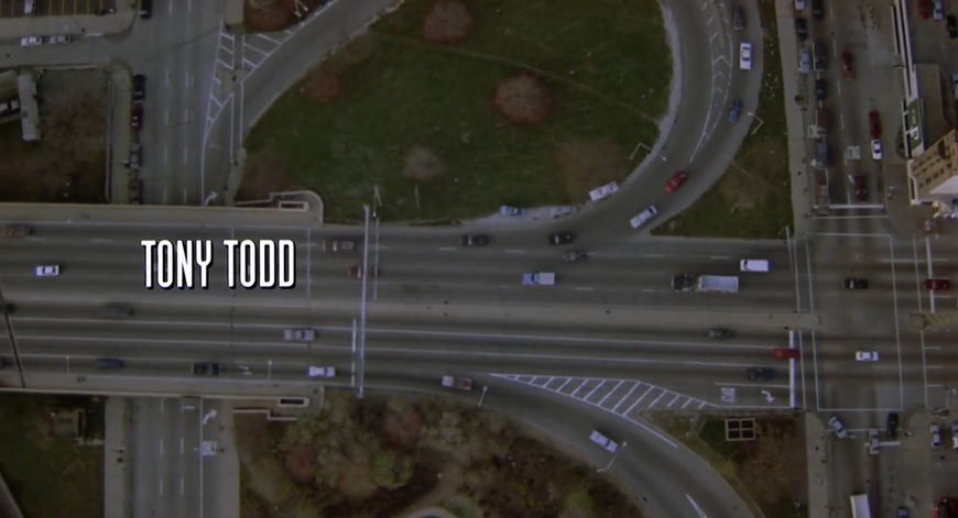 IMAGE: Still from title sequence - Tony Todd