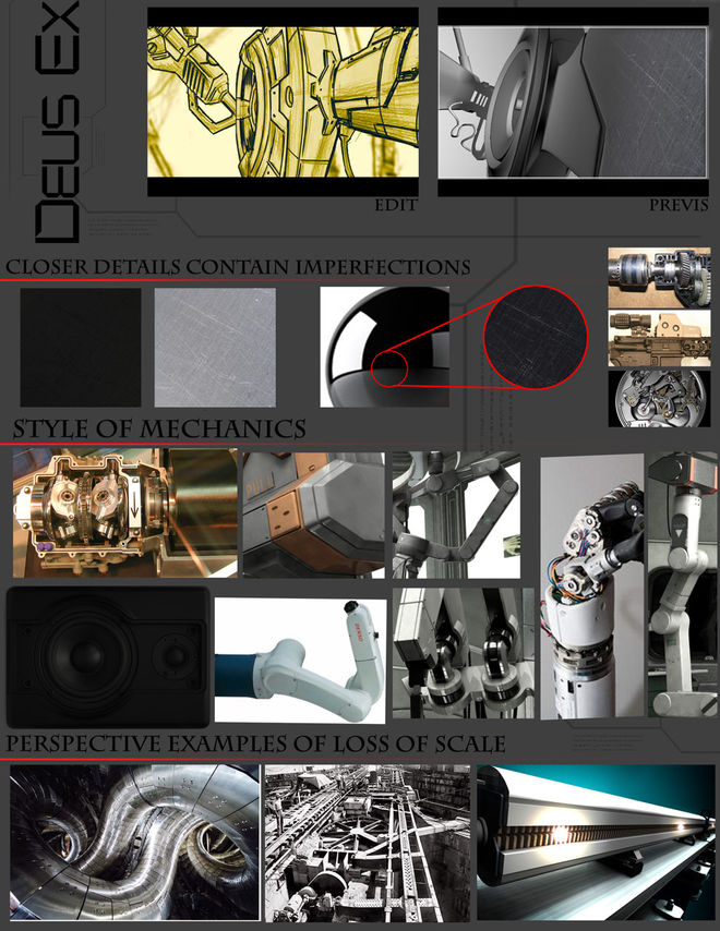 Mechanical reference images