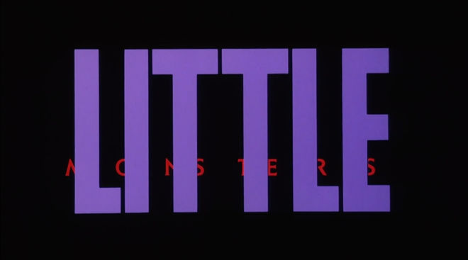 IMAGE: Little Monsters (1989) pre-title card