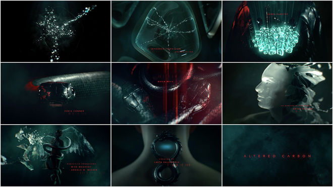 VIDEO: Title Sequence - Altered Carbon