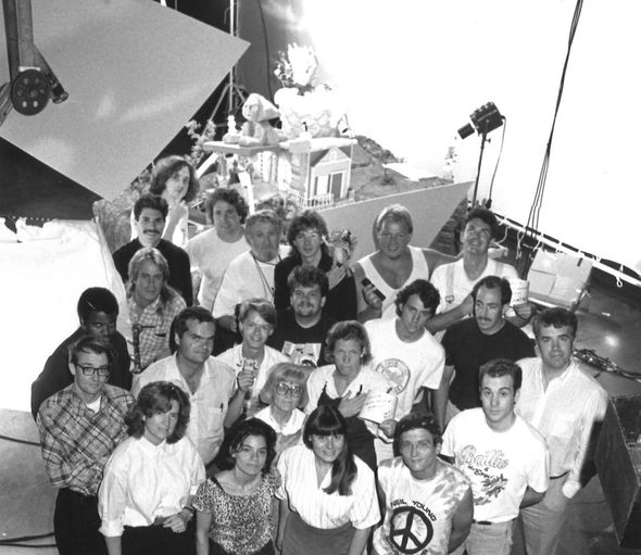 IMAGE: Pee-wee's Playhouse title sequence crew