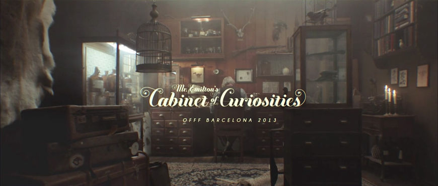 VIDEO: Title Sequence – OFFF Barcelona 2013