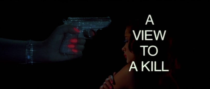 VIDEO: Title Sequence – A View to a Kill (1985)