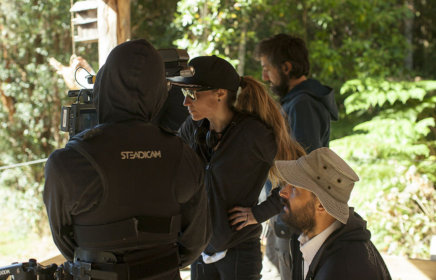 IMAGE: Marialy Rivas on set