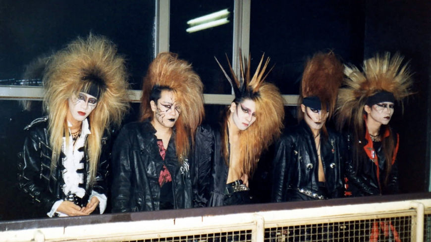 IMAGE: X Japan Group Photo 1 – big hair photo
