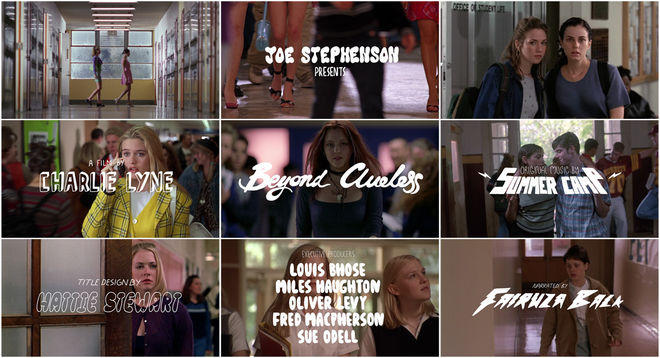 VIDEO: Title Sequence – Beyond Clueless (2014)