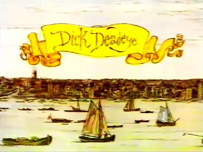 VIDEO: Title Sequence – Dick Deadeye, or Duty Done (1975)