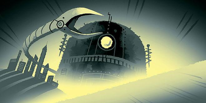 Amazing Adventures of Kid Cole & Klay - Robot artwork