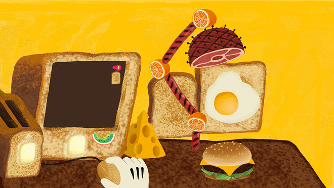 IMAGE: Toast illustration