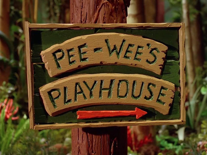 VIDEO: Title Sequence – Pee-wee's Playhouse (1986)