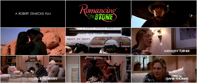 VIDEO: Title Sequence - Romancing the Stone