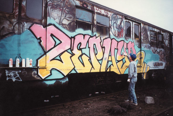 IMAGE: Zephyr in New York, mid-1980s