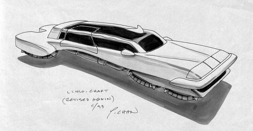 IMAGE: Full Throttle (1995) Limo Concept