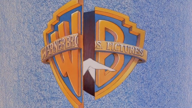 IMAGE: Still – Madonna emerging from WB logo