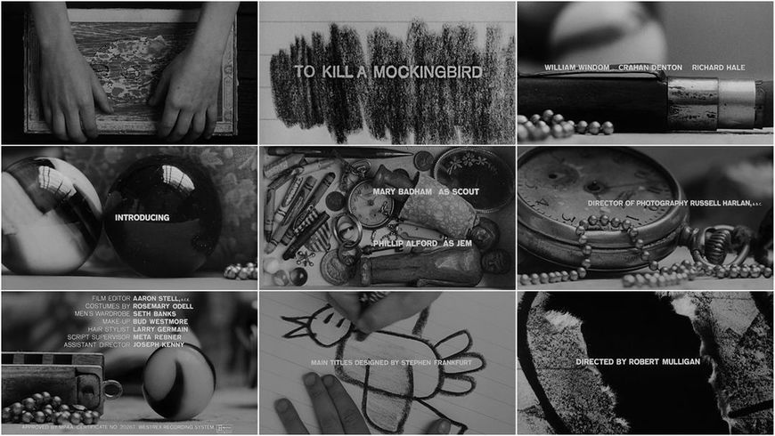 VIDEO: Title Sequence –To Kill a Mockingbird (1962)