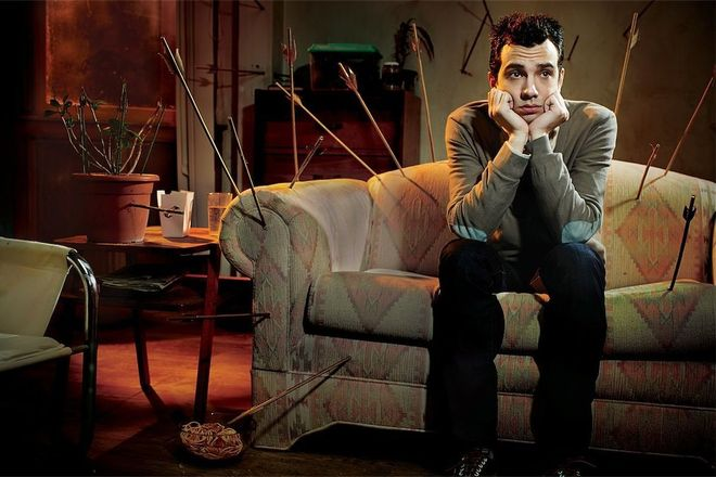 IMAGE: Still from Man Seeking Woman, the show