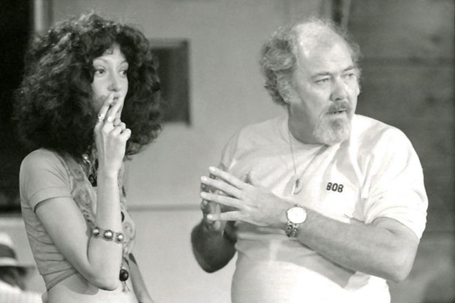 IMAGE: Shelley Duvall and Robert Altman on Nashville Set