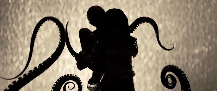 IMAGE: Still –Couple and octopus / menage-a-trois