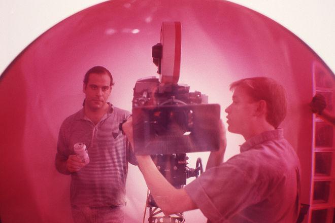 IMAGE: Pink acrylic lens shoot