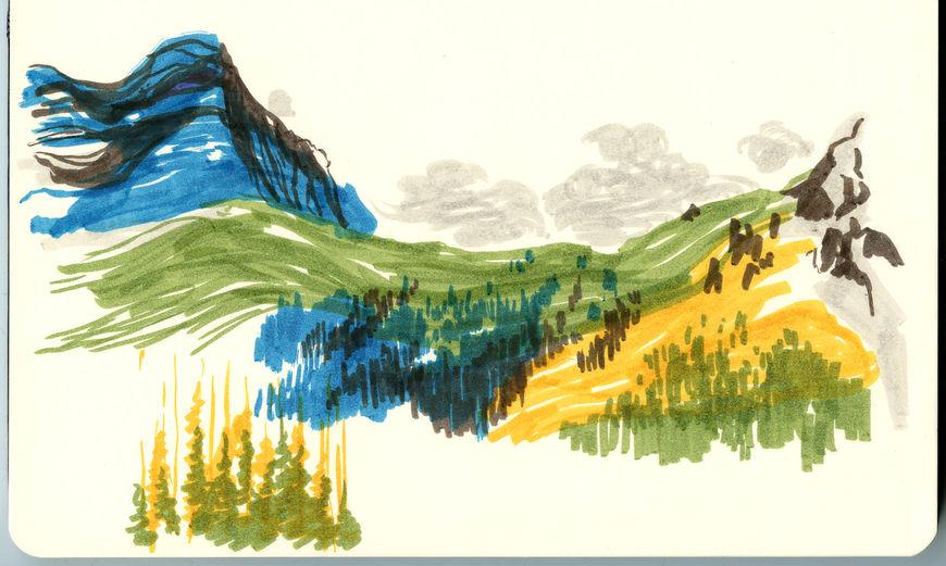 IMAGE: Landscape sketch