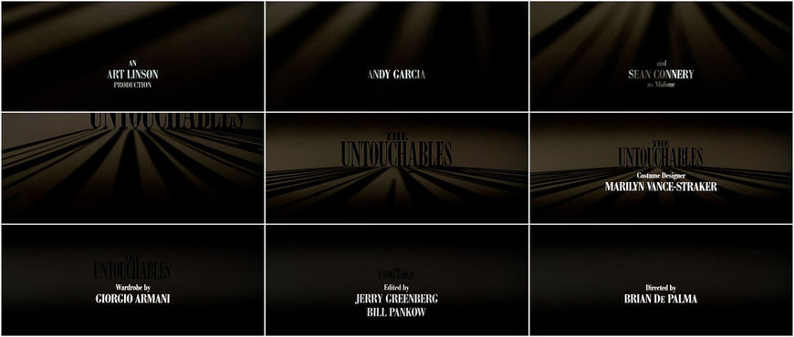 VIDEO: Title Sequence - The Untouchables