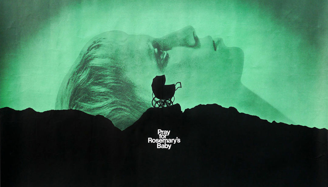 IMAGE: Rosemary's Baby (1968) Quad Poster Art