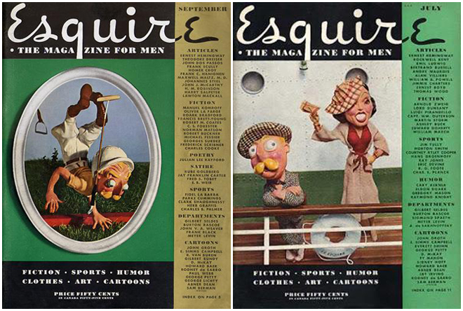 IMAGE: Esquire covers featuring Esky