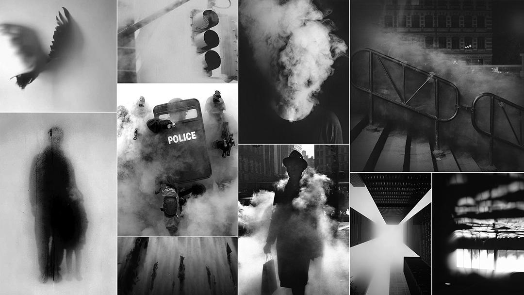 IMAGE: Smoke moodboard