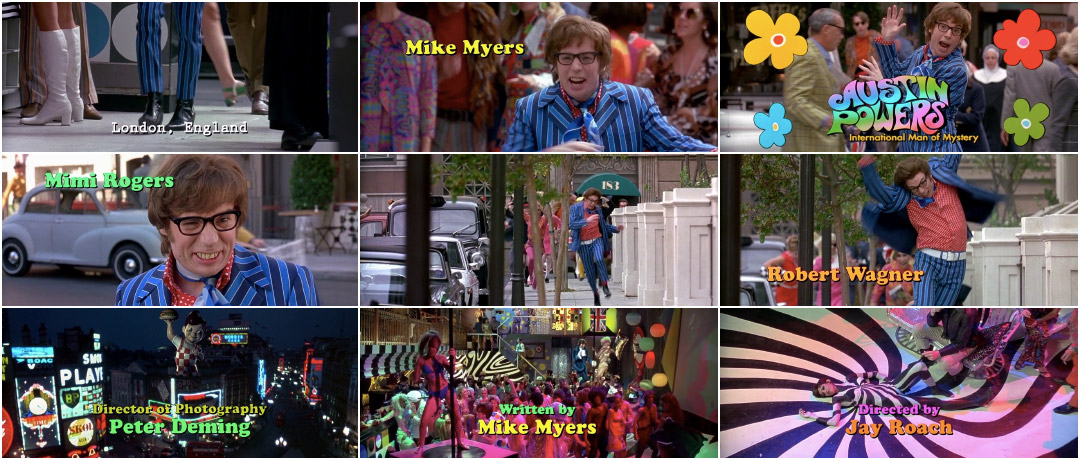 VIDEO: Title Sequence – Austin Powers International Man of Mystery (1997)
