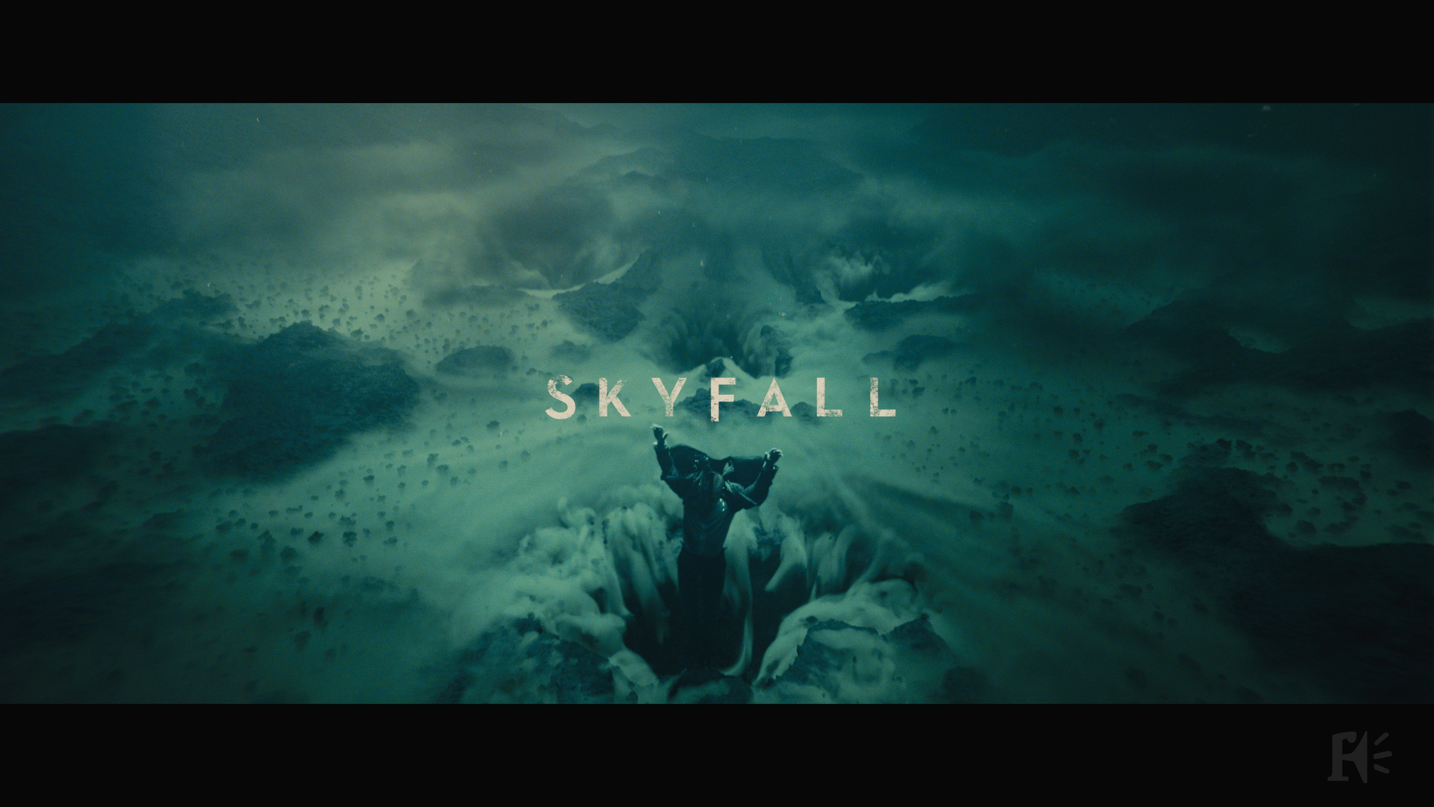 skyfall 2012 art of the title