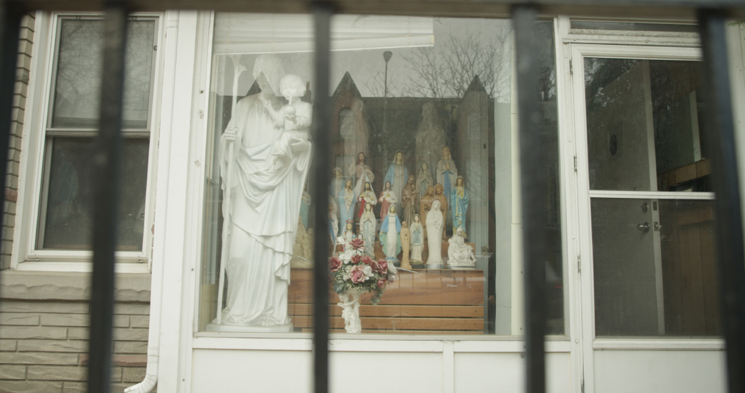 IMAGE: St-Nickel Virgin Mary Storefront